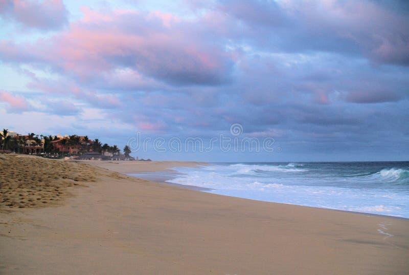 Vue de l'océan pacifique dans Los Cabos Mexique photographie stock libre de droits