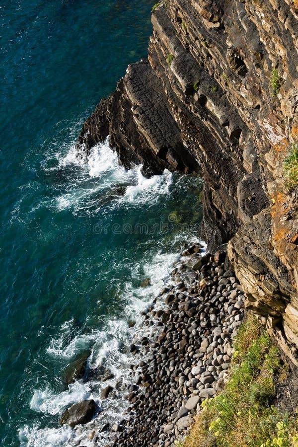 Vue de la falaise photographie stock