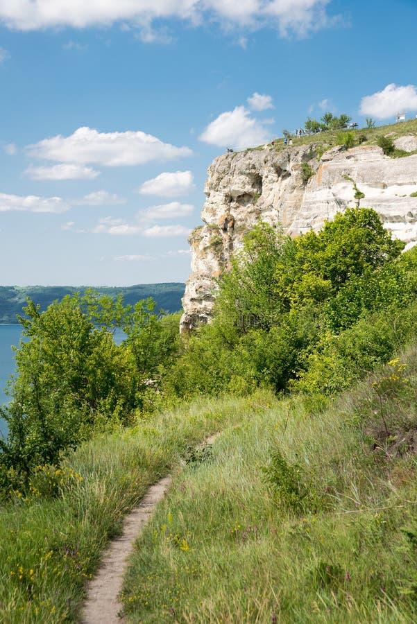 Vue de la grande rivière photos libres de droits