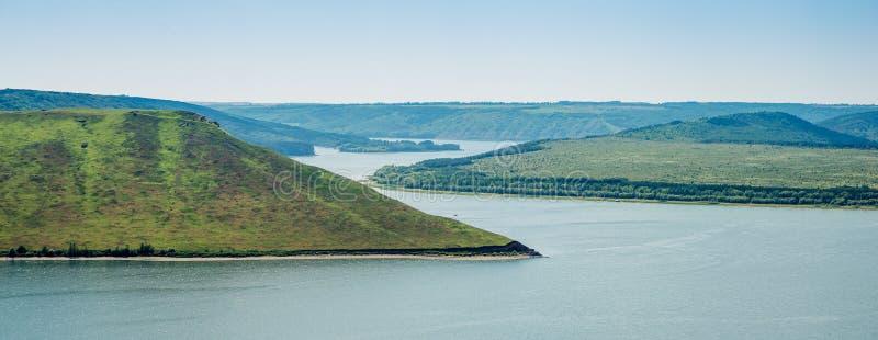 Vue de la grande rivière photo libre de droits