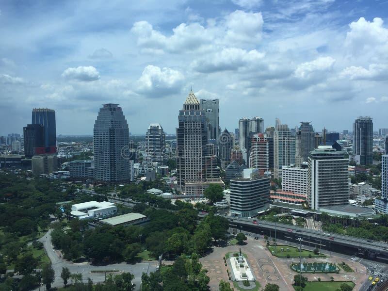 Vue de la métropolitaine de Bangkok photo stock