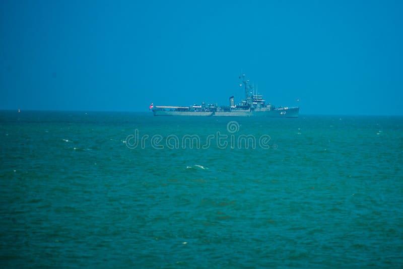 Vue de la mer thailand images libres de droits