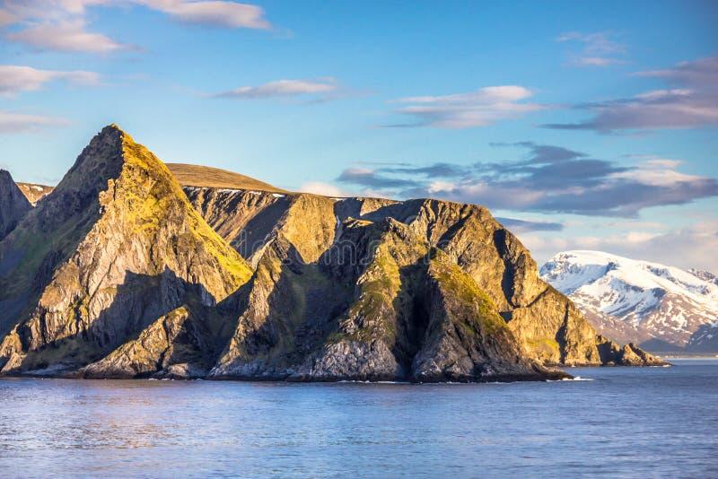 Vue de la Norvège du nord près d'Alta photo libre de droits