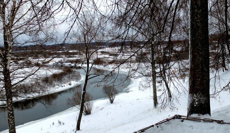 Vue de la rivière Sorot image libre de droits