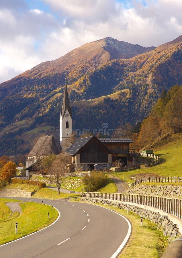 Vue de la route, Autriche photos stock