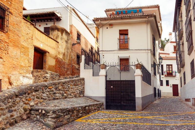 Download Vue De La Vieille Ville, Grenade, Andalousie, Espagne Photo stock - Image du ville, touristique: 87700606