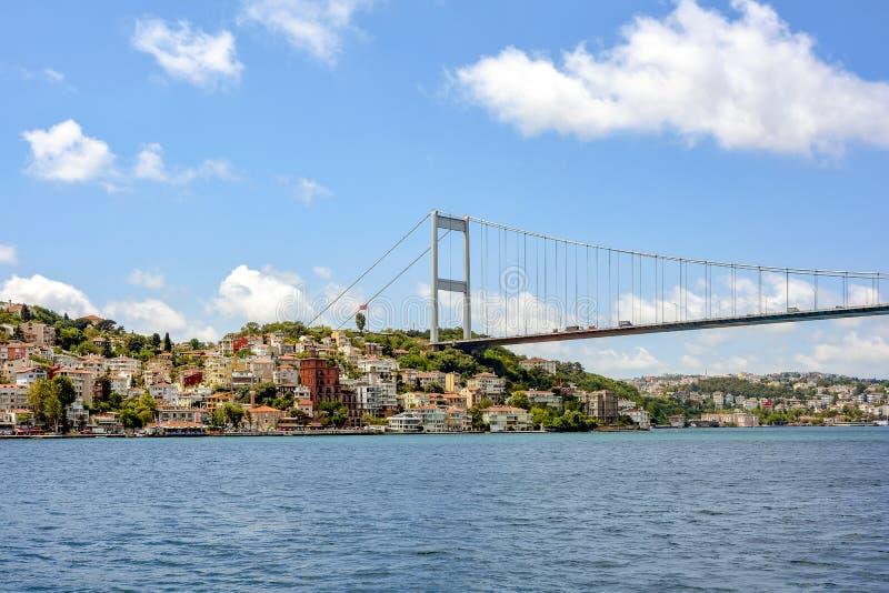 Vue de la ville historique d'Istanbul et de ses bâtiments image stock