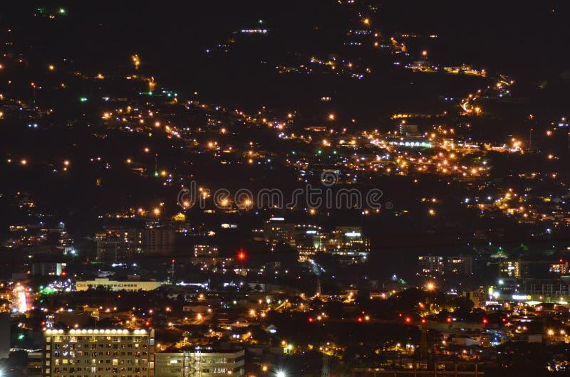 Vue de la ville de San José image libre de droits