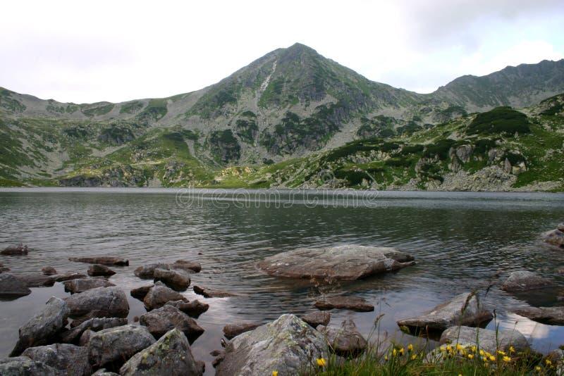Vue de lac Bucura images stock