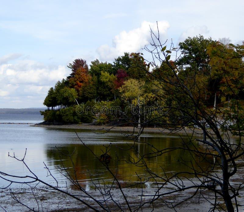 Download Vue de lac foliage image stock. Image du scénique, réflexion - 45358715