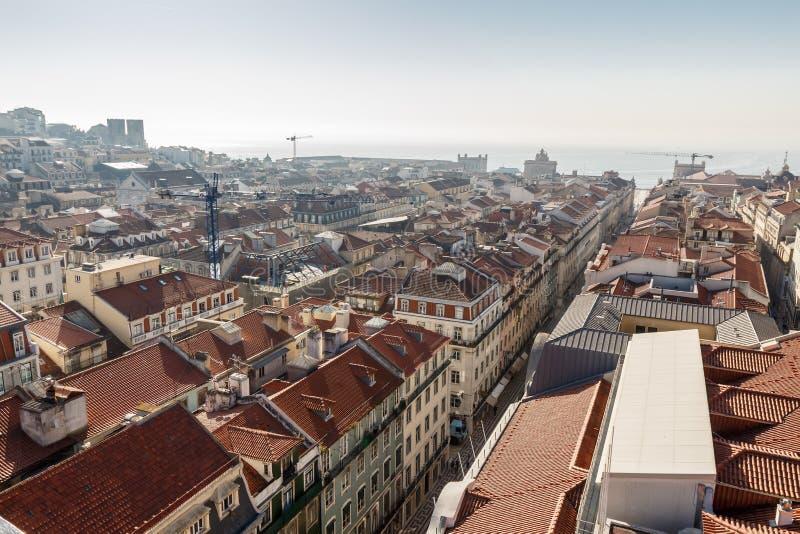 Vue de Lisbonne photo stock