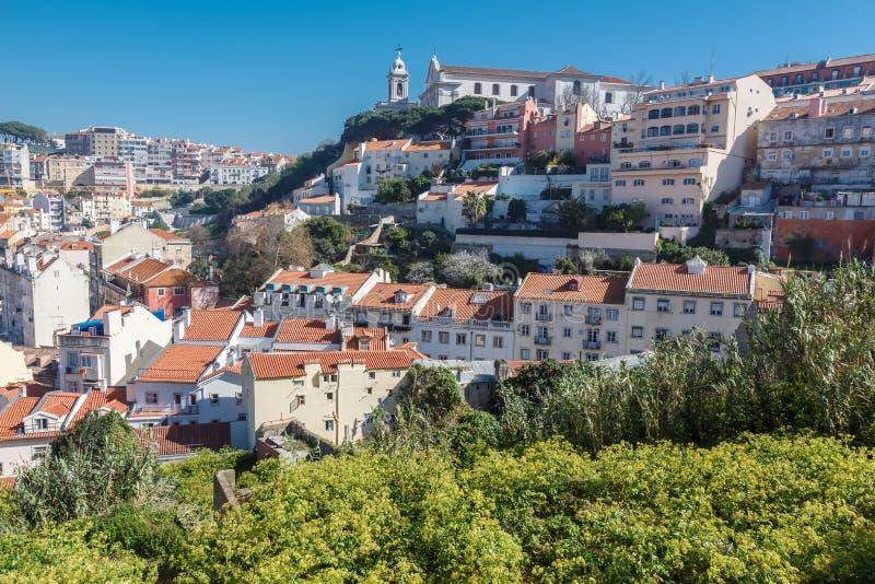 Vue de Lisbonne photos stock