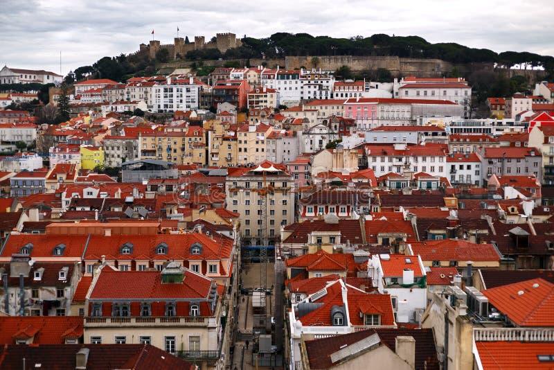 Vue de Lisbonne, Portugal image stock