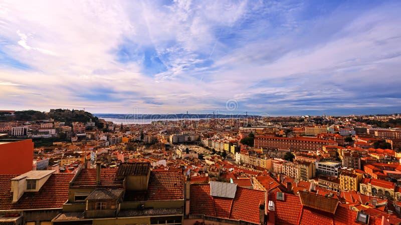 Vue de Lisbonne, Portugal images libres de droits