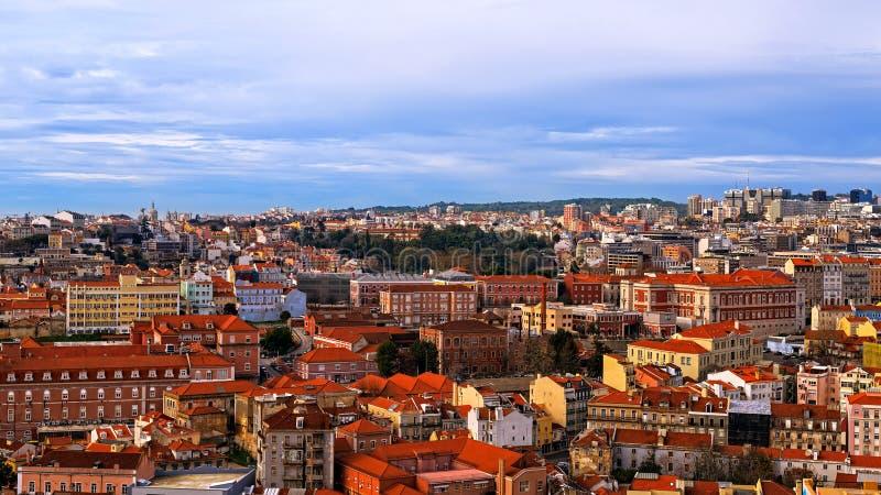 Vue de Lisbonne, Portugal photos libres de droits