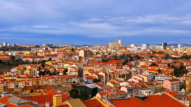 Vue de Lisbonne, Portugal images stock