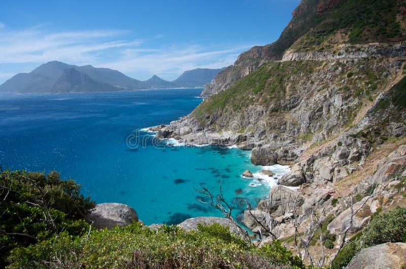 Vue de littoral de Capetown images libres de droits