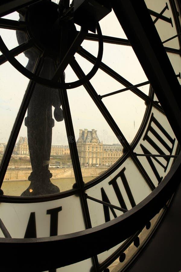 Vue de Paris. image stock
