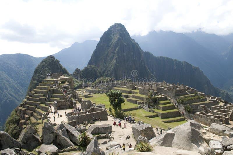 Vue de Machu Picchu photographie stock