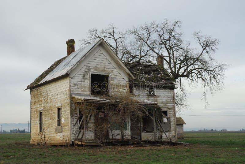 Vue de maison de ferme photos stock