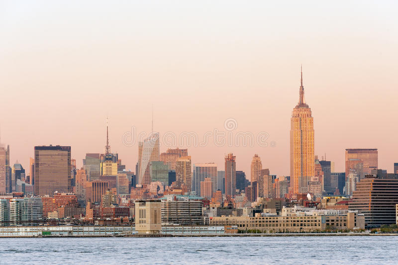 Vue de Manhattan photographie stock