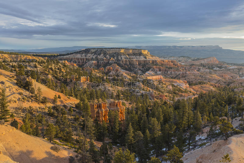 Vue de matin de Bryce Canyon National Park Fall photo stock