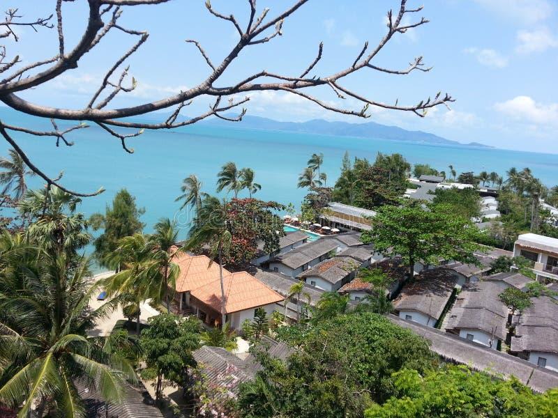 Vue de mer d'île de Koh Samui photographie stock