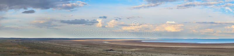 Vue de mer d'Aral photos libres de droits