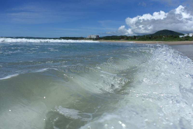 Vue de mer dans Kenting Taïwan photo libre de droits