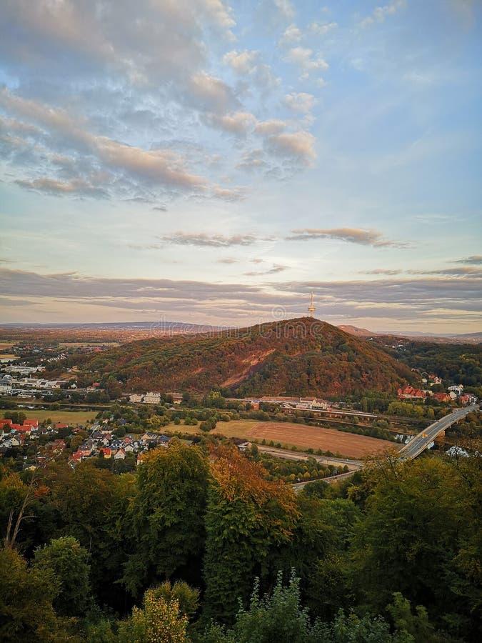 Vue de montagne de beauté la meilleure photographie stock