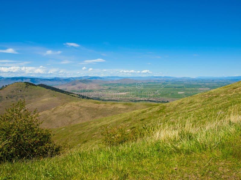 Vue de montagne et de vallée photo libre de droits