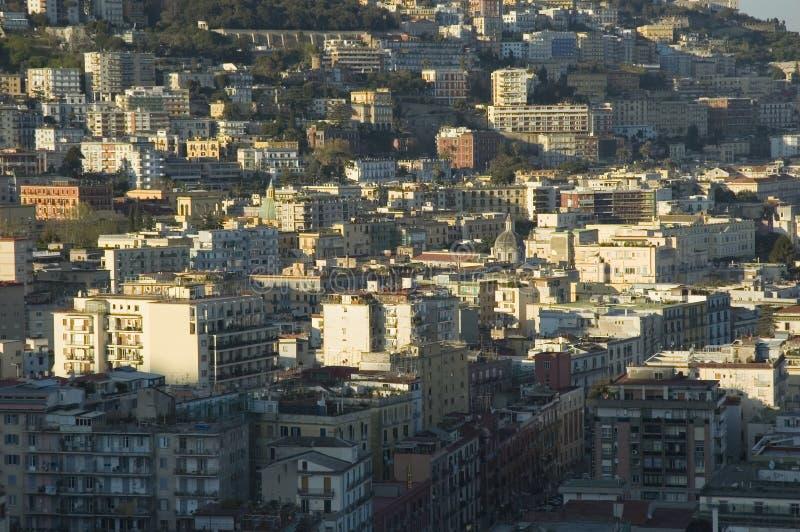 Vue de Naples, Italie images stock