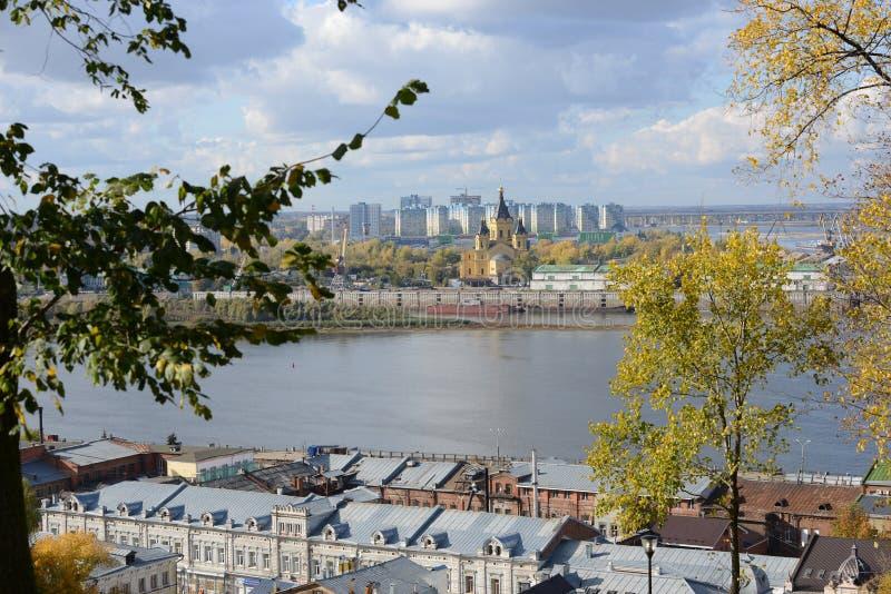 Vue de Nizhny Novgorod photographie stock