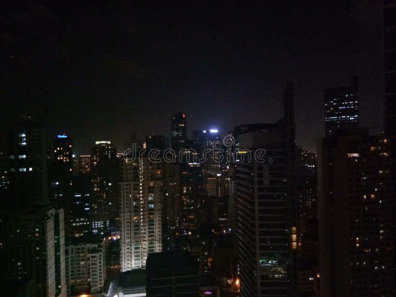 Vue de nuit images libres de droits