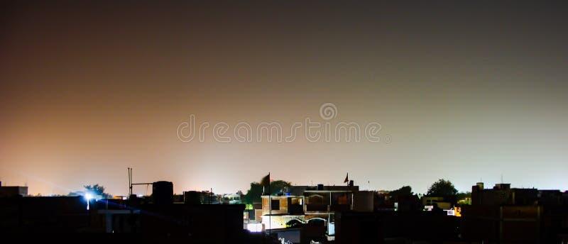 Vue de nuit image libre de droits