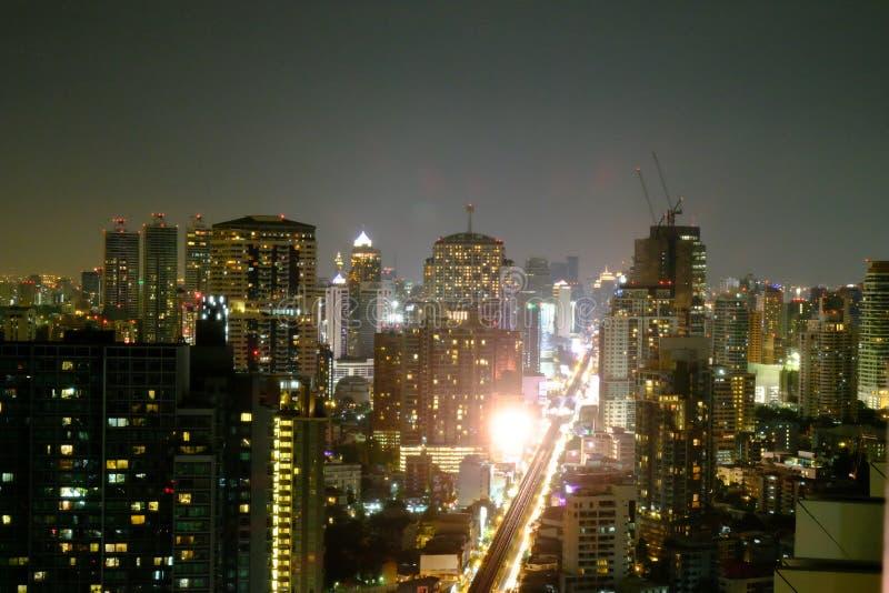 Vue de nuit photo libre de droits