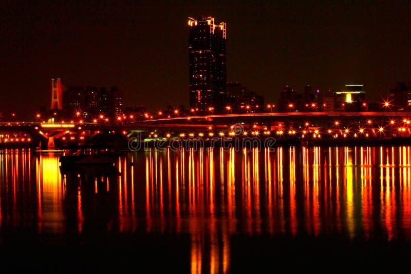 Vue de nuit photographie stock libre de droits