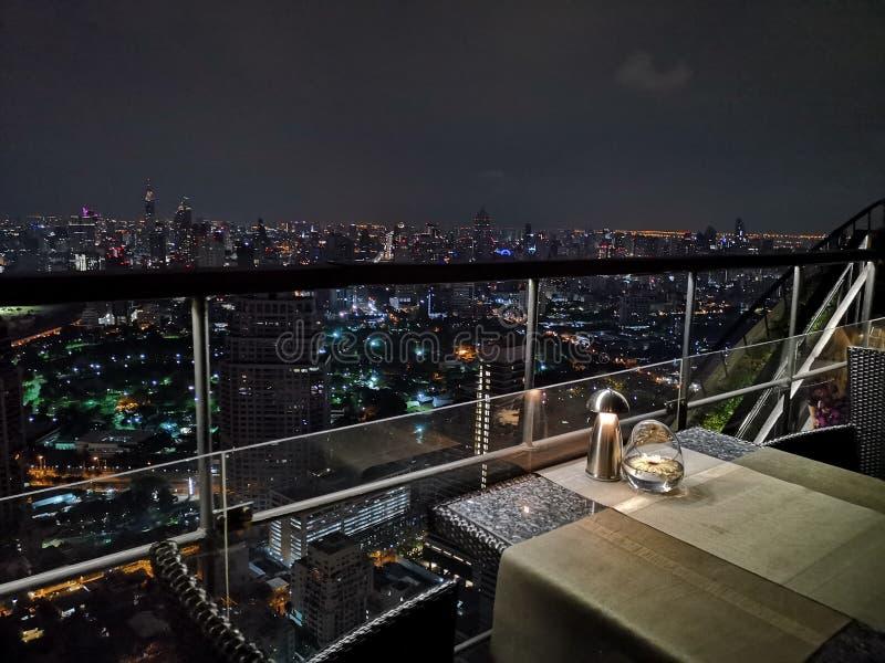 Vue de nuit ? Bangkok image libre de droits