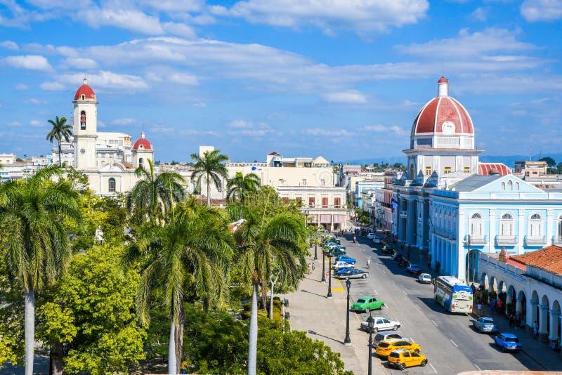 Vue de palais de Ferrer, Cienfuegos photos stock