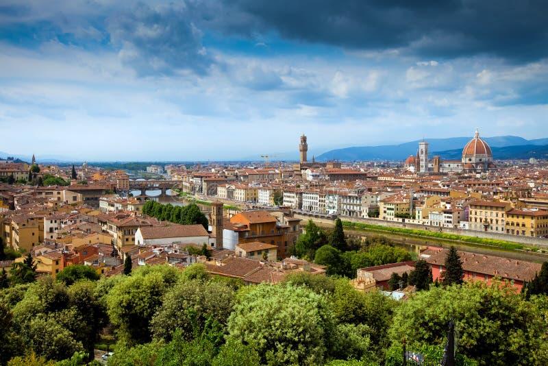 Vue de panorama de Firenze photographie stock libre de droits