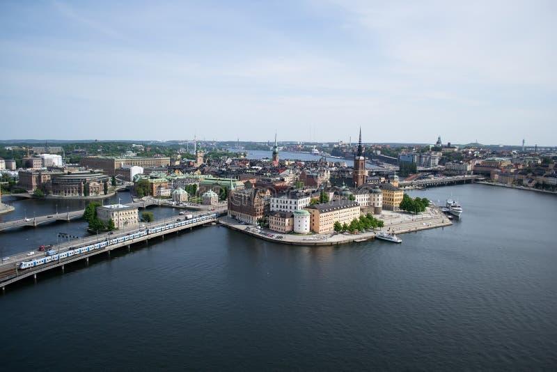 Download Vue De Panorama De Stockholm Image stock - Image du beau, tourisme: 87707575