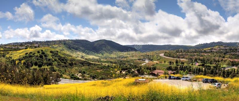 Vue de parc de région sauvage d'Aliso Viejo photo stock