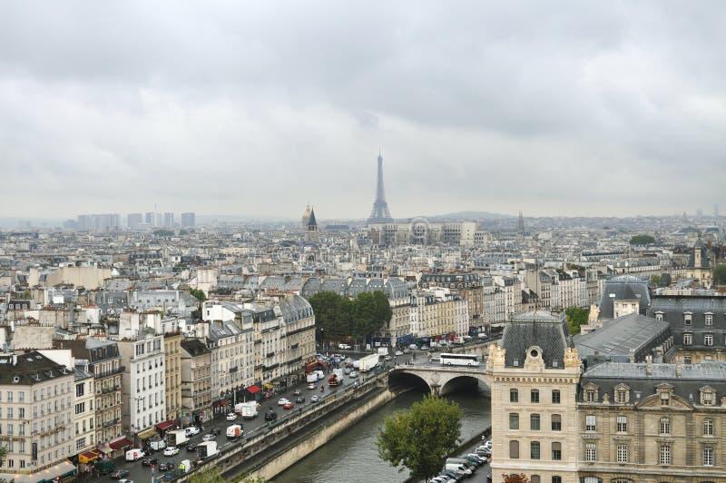 Vue de Paris images stock