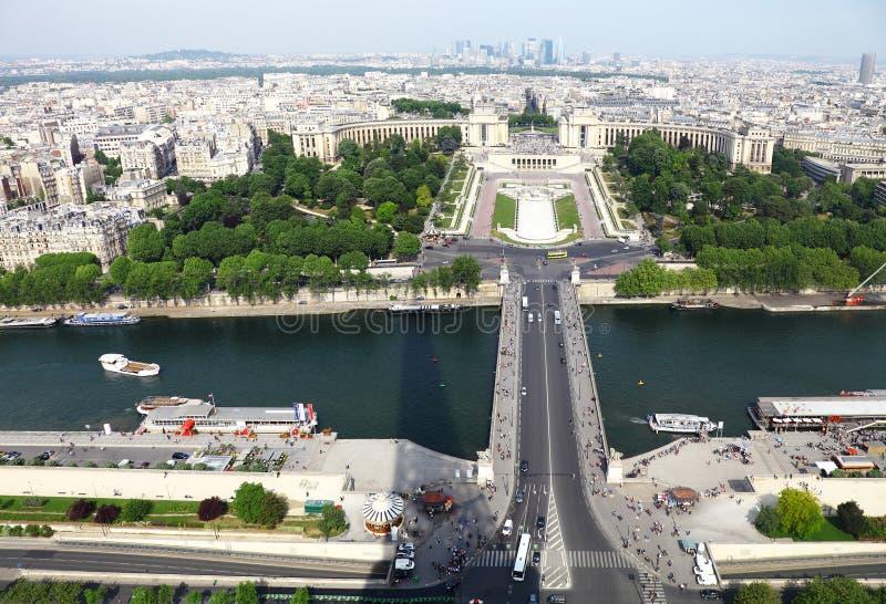 Vue de Paris photo libre de droits