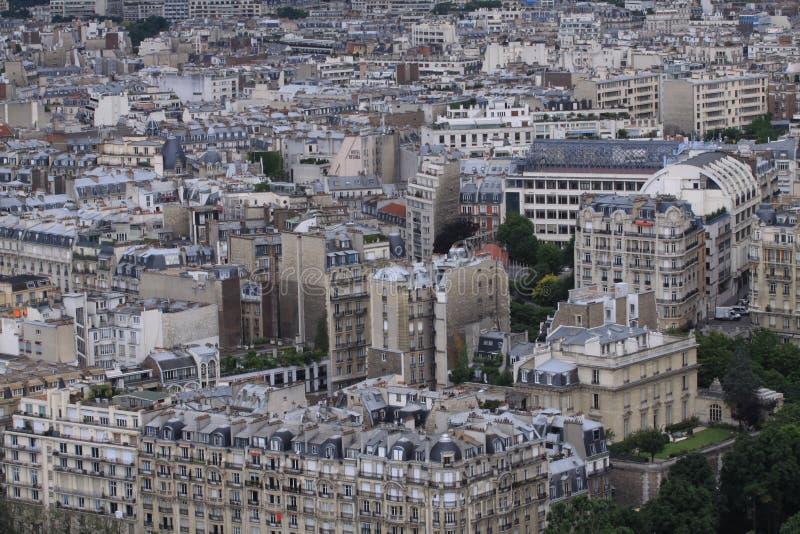 Vue de Paris image libre de droits