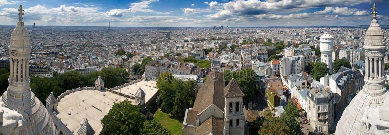 Vue de Paris. Sacre Couer image libre de droits