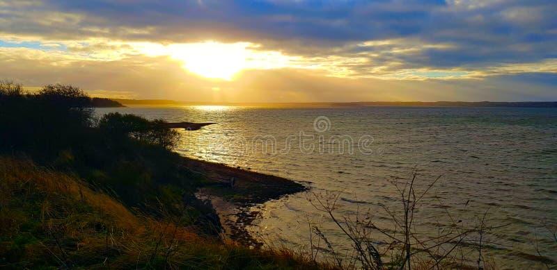 Vue de paysage avec le bel horizon photo libre de droits