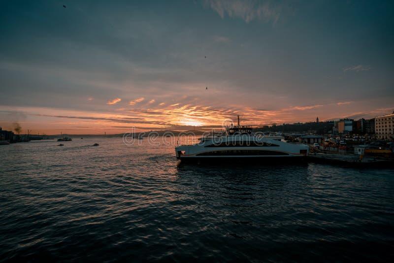 Vue de paysage d'Istanbul, Turquie photos stock