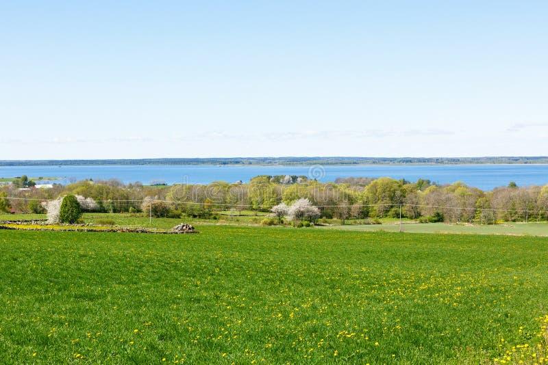 Vue de paysage de campagne image stock