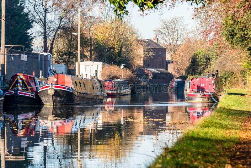 Vue de paysage de la Manche de bateau au Royaume-Uni photographie stock